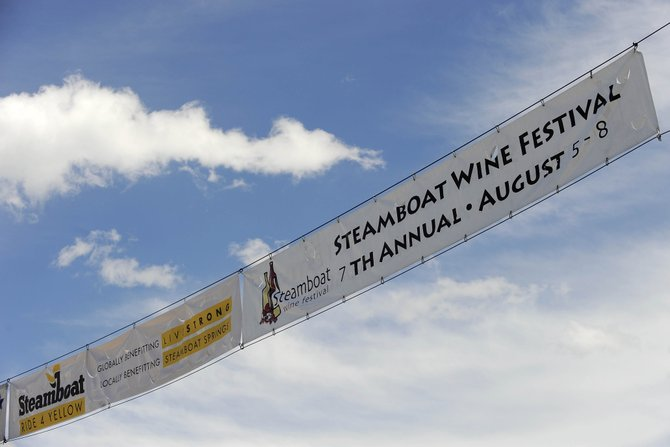 Steamboat's summer tourism season is expected to peak this weekend as visitors will be in town for The Wine Festival at Steamboat and Ride 4 Yellow events.