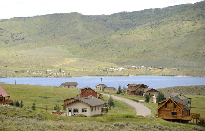 The Upper Yampa Water Conservancy District is releasing water from Stagecoach Reservoir as it prepares for a construction project that will increase the South Routt reservoirs capacity.