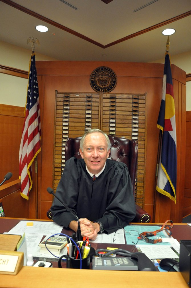 A Judicial Performance Commission used a survey and interviews to rate Judge James Garrecht, and the consensus is to retain him.