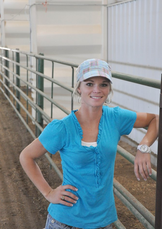 Cassidy Kurtz is the new 4-H agent at the Routt County Extension Office.