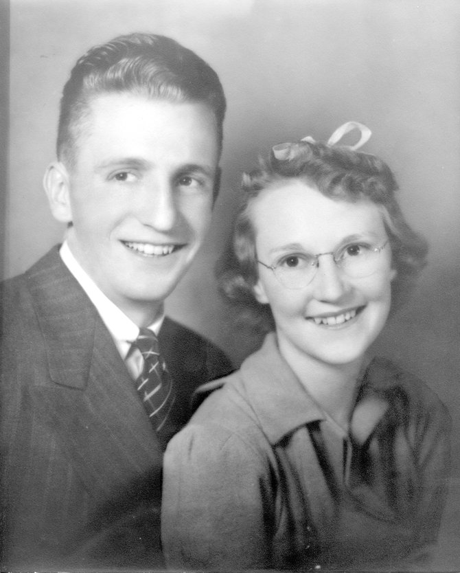 Lloyd and Annabeth Lockhart in the 1930s in Steamboat Springs. The two have been married more than 65 years and will share memories of Steamboat in a discussion series called Decade by Decade, which begins at noon today in Library Hall at Bud Werner Memorial Library.