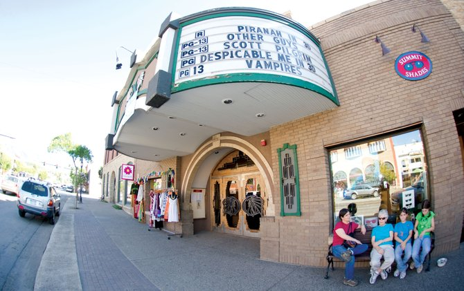 The Friends of the Chief has a contract to buy the Chief Plaza Theater on Lincoln Avenue in downtown Steamboat Springs. The group wants to refurbish and return the small multiplex movie theater to a single stage intended for a variety of cultural uses.