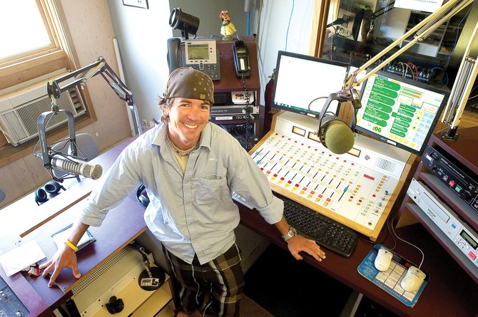 Eli Campbell, promotion and marketing manager for NRC Broadcasting, will be leaving the station after five years to travel. Campbell, who built a strong local following, will be on air for the final time Tuesday.