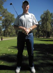 Kurt Utzinger, 67, hit his second career hole-in-one Sunday at Yampa Valley Golf Course on the fourth hole, a par-three.
