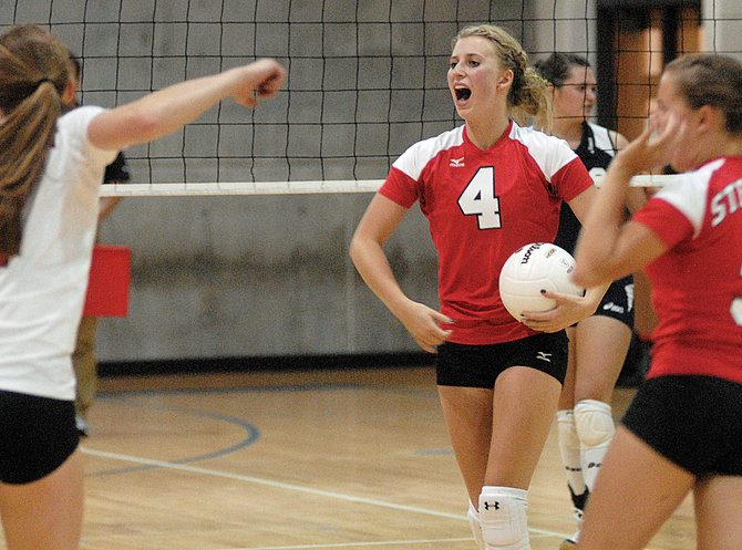The Steamboat Sailors defeated the Vail Mountain Gore Rangers, 21-25, 25-13, 25-20, 25-17, in nonconference action in East Vail