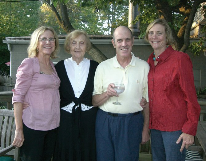 The Palmer family, from left, Laura, Helen, Mark and Joanne.