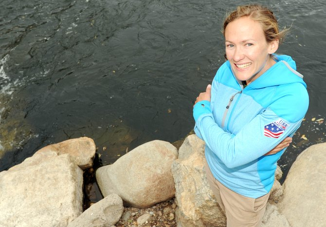 Sarah Hamilton has spent the past month driving to and from Vail-area training spots since she was added to the U.S. Rafting team's roster after wowing the squad in her kayak at an August river event.