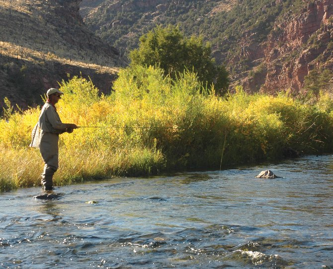 Green river expedition proves a rewarding fly fishing trip for Green river utah fishing