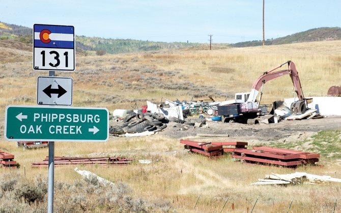 The Routt County Board of Commissioners will review the special use permit for the Lipsie metal and appliance recycling center south of Oak Creek at Colorado Highway 131 and Routt County Road 14. Commissioners want to determine if the owners have met the conditions set down earlier this summer.