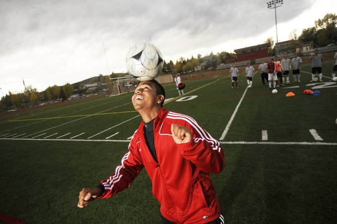 Steamboat Springs High School junior Enrique Lopez leads the Sailors soccer team with nine goals this season. Lopez moved to Steamboat Springs from Guadalajara, Mexico, five years ago.