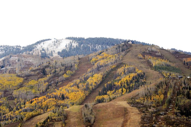 Opening Day is 46 days away at Steamboat Ski Area.