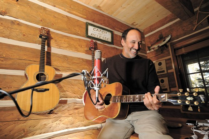 Part-time Steamboat Springs resident Mark Sanders is scheduled to perform with two other songwriters Tuesday at First String Music.