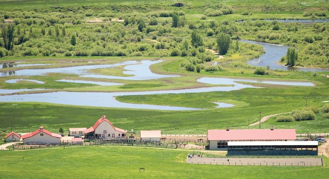 Humble Ranch Education & Therapy Center, located on Routt County Road 14 a few miles outside of Steamboat Springs, provides therapy for adults and children with special needs. Trails on another part of the property are the subject of ongoing litigation.
