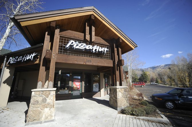The Steamboat Springs Pizza Hut closed its doors Tuesday night. The business has been in Sundance Plaza since 1983.