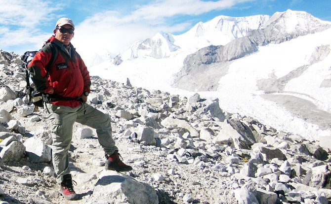 Chhiring Dorje, a close friend to Steamboat adventurers Matt Tredway and Eric Meyer, is among the world's most accomplished high-altitude climbers.