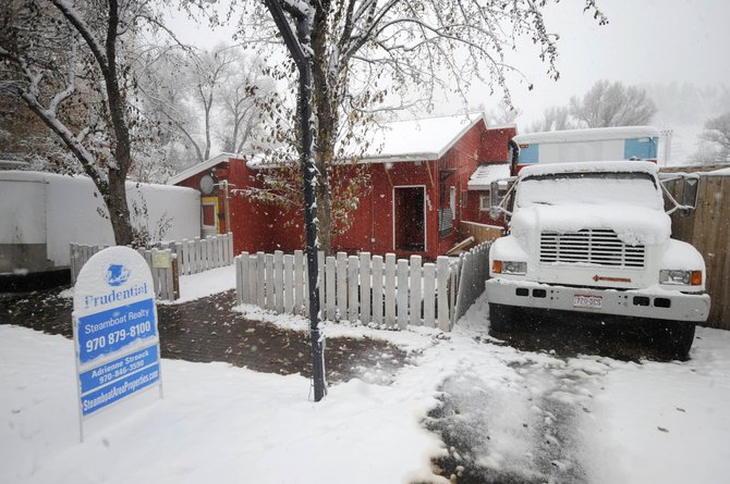 Several options are on the table for Sweet Pea Market and Cafe. The downtown Steamboat Springs property is listed for sale at $1.15 million, has pulled a demolition permit for a freestanding shed and portion of its roof, and also could be working toward reopening.