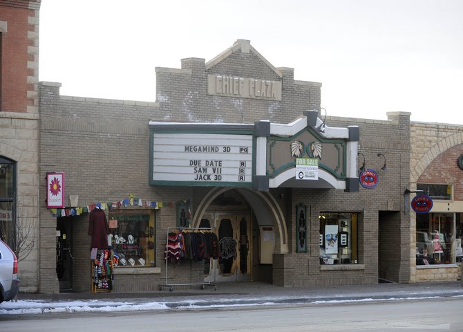 Discussions are ongoing for a community-based group to purchase the historic Chief Plaza Theater in downtown Steamboat Springs. An appraisal of the property is expected in the next 10 days.