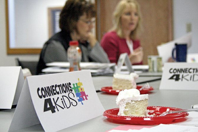 Connections 4 Kids, formerly the Northwest Colorado Council for Children and Families, rolled out a new logo during the organization's Tuesday board meeting. The nonprofit group helps identify and close gaps in services for children ages 8 and younger in Moffat and Rio Blanco counties.