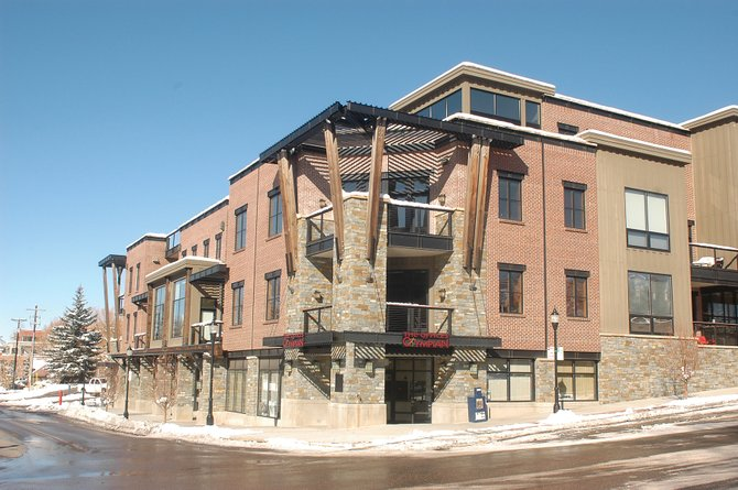 The Olympian, at Yampa and Fifth streets, is among the downtown redevelopment properties seeing the return of high-end condo buyers.