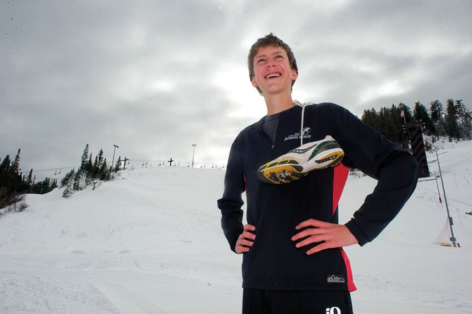 Asher Rohde, a junior at Steamboat Springs High School, will travel Dec. 11 to Alabama to race in the Junior Olympic nationals.