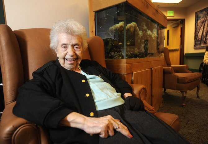 After nearly seven decades, Steamboat Pilot & Today columnist Lila Rider continues to report the news from her home at the Doak Walker Care Center.