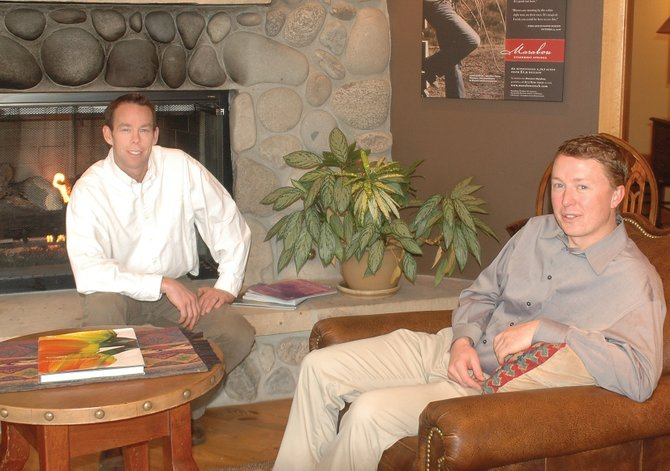 Partner Charlie Dresen, left, and Director of Property Management Ben Weaver are among the new additions at High Mountain Sotheby's International Realty in Steamboat Springs.