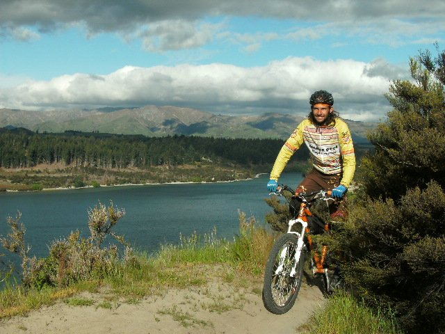 Steamboat's Essam Welch traveled with his wife, Deborah Improta, to New Zealand in fall to compete in the Singlespeed World Championships.