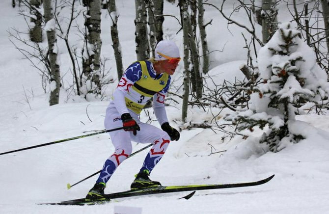 Steamboat Springs Winter Sports Club athlete Max Scrimgeour placed second in the J1/OJ division Saturday at the Rocky Mountain Nordic Junior National Qualifiers in Vail.