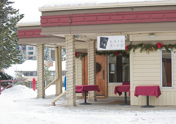 Cafe Diva is located at 1855 Ski Time Square Drive at the base of Steamboat Ski Area.