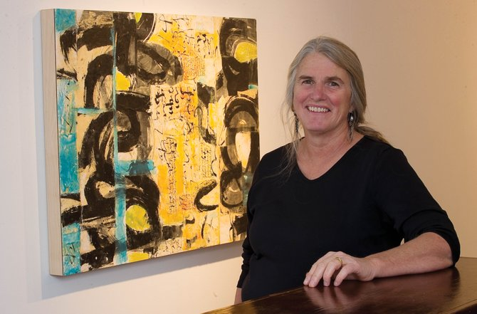 Steamboat Springs artist Laura Wait's work is being displayed at K. Saari Gallery in downtown Steamboat.