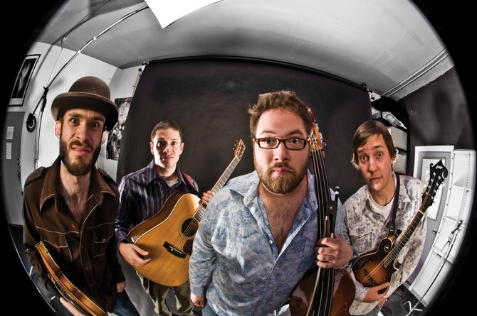 Progressive bluegrass band Head for the Hills plays at 9 p.m. Saturday at Ghost Ranch Saloon. The show costs $10.
