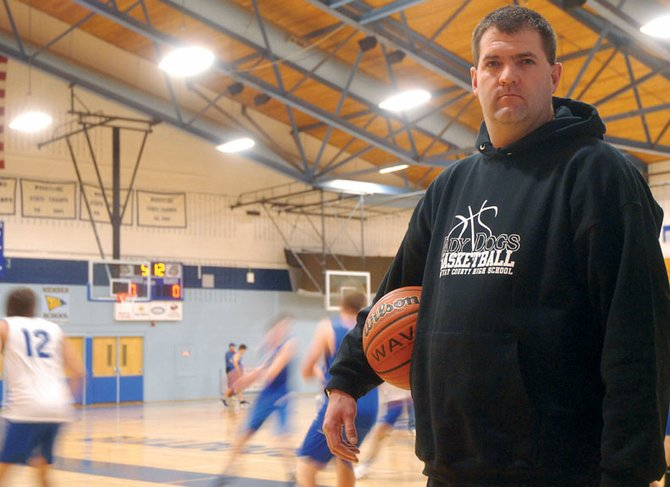 Matt Ray has spent thousands of hours in the Moffat County High School gymnasium as both a player and coach. After serving as an assistant for eight years, this is his first year as head coach of the girls varsity basketball team.