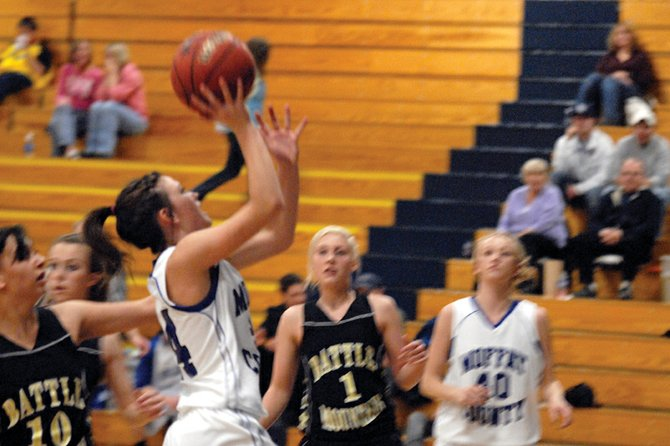 The Moffat County High School girls varsity basketball team overcame a four-point first quarter Friday to get a win over Delta, 46-39. With their third straight win, head coach Matt Ray said he has his team eyeing a Western Slope league championship.