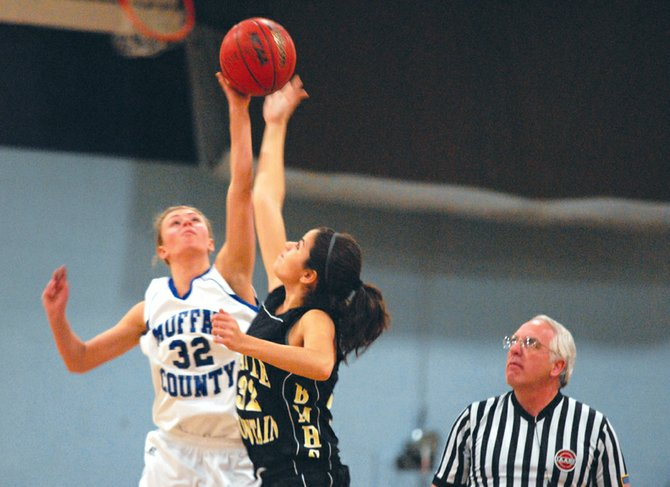 Sparked by junior varsity players, the Moffat County High School girls varsity basketball team overcame a four-point first quarter to beat Palisade, 45-39, on Saturday. The Bulldogs have won four consecutive games and will face Steamboat Springs on Thursday.