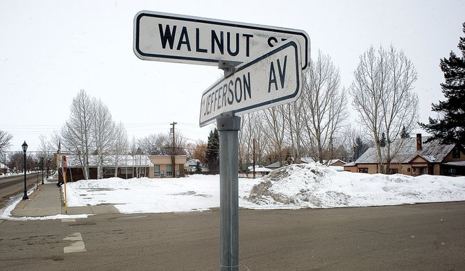 Kum & Go in Hayden is seeking approval to move to this vacant lot at Walnut Street and Jefferson Avenue.