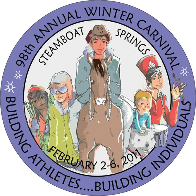 2011 Winter Carnival button