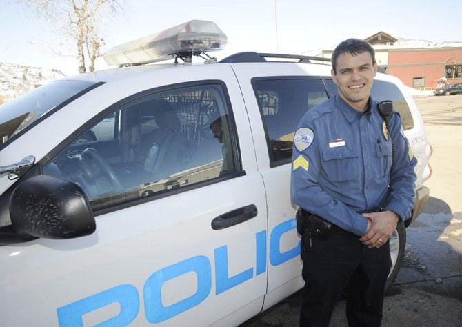 Steamboat Springs native Sam Silva was promoted this week to sergeant at the Steamboat Springs Police Department. He fills the position left by Dale Coyner.