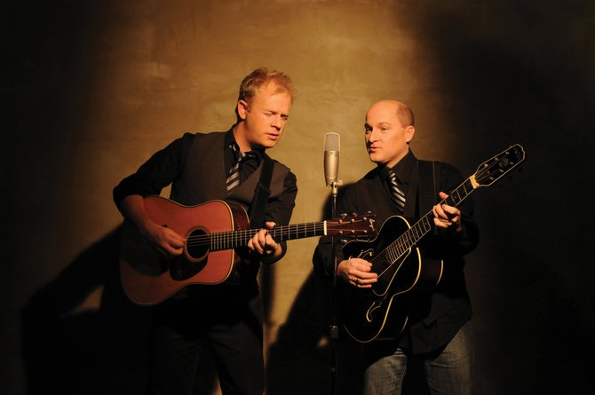 Bluegrass duo Dailey & Vincent will play the Strings Music Pavilion on Tuesday as a part of the music festival's winter concert series. Tickets are $32 and can be purchased at www.stringsmusicfestival.com or by calling 970-879-5056.