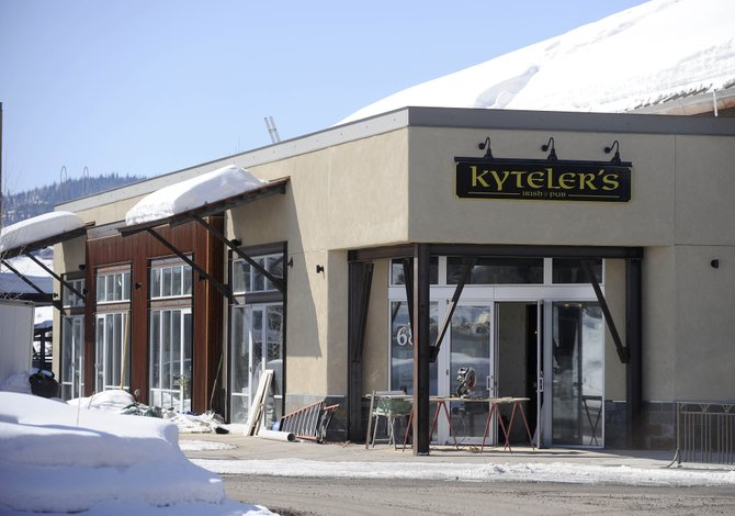 Kyteler's Irish Pub is in the final stages of interior work and inspections and likely will open in March.
