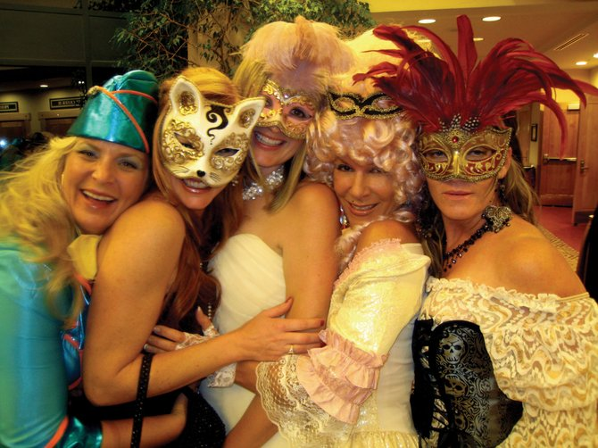 Supporters of the Yampa Valley Autism Program gathered for the local nonprofit's inaugural Masquerade Ball in fall 2008. The third annual event, benefitting services and programs provided by the Autism Program, is from 6 to 11 p.m. Saturday at the Steamboat Springs Community Center.