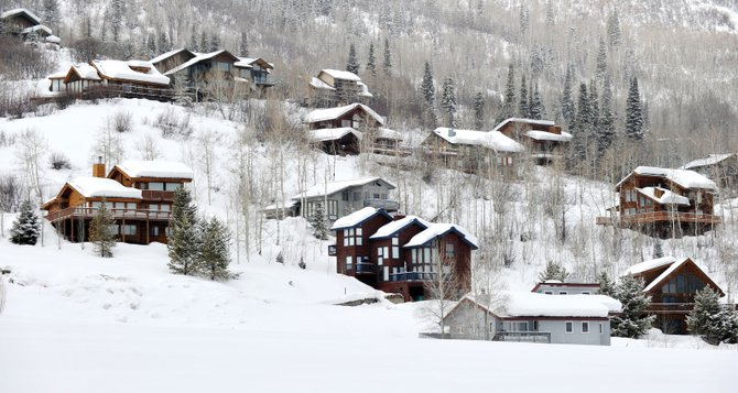 There are two spots in the county where the vacation rental market is operating without the county's blessing and has persisted in the face of selected enforcement incidents: Tree Haus and Hahn's Peak. The Tree Haus neighborhood on Routt County Road 14 is so close that it certainly feels like part of Steamboat Springs, but as it's just outside city limits, it's subject to the county's ban on short-term rentals.