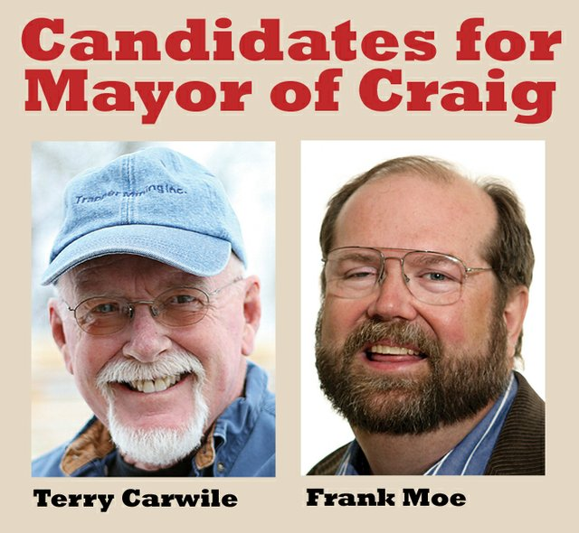 Mayoral candidates in the upcoming Craig City election