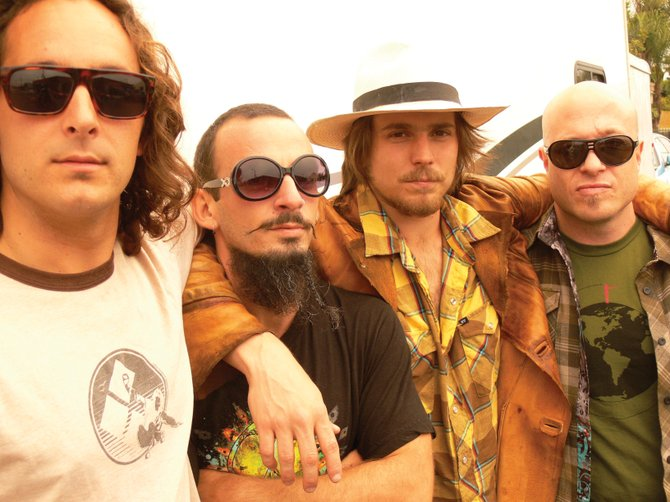 Lukas Nelson, second from right, and Promise of the Real play a Bud Light Rocks the Boat free concert at 3 p.m. Saturday in Gondola Square. Nelson, who is folk legend Willie's son, plays rootsy blues rock laced with gritty vocals.