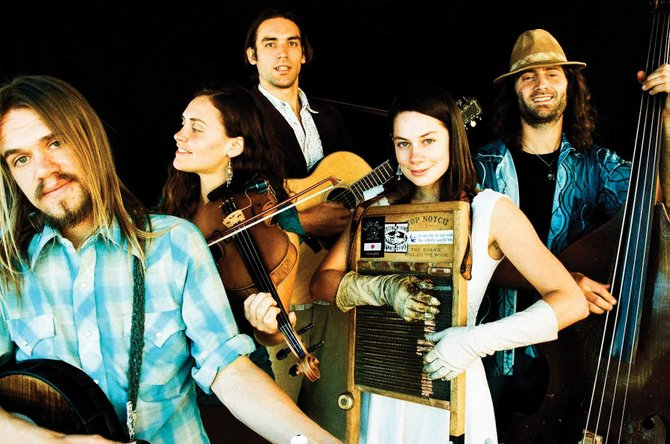 Elephant Revival, a neo-acoustic quintet from Nederland, plays at 9:30 p.m. today at Bear River Bar &amp; Grill. Tickets are $15 at the door.