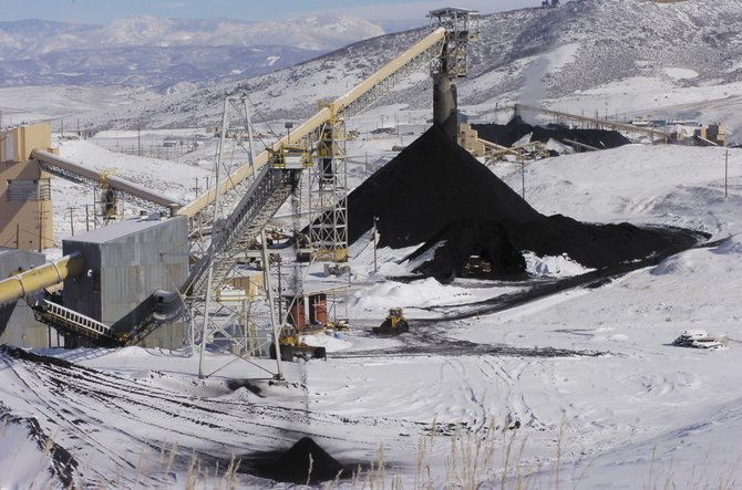 Peabody Energy's Foidel Creek Mine in western Routt County is the most productive coal mine in the state in terms of annual tonnage. Last year, the mine produced 7.7 million tons of coal.