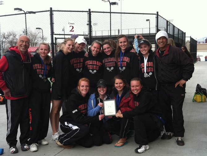 The Steamboat Springs High School girls tennis team won the Western Slope Open on Saturday in Grand Junction.