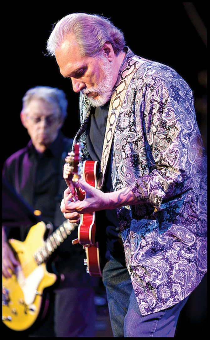 Jorma Kaukonen, right, and Jack Casady, formerly of Jefferson Airplane, will open the 20th season of Steamboat Springs' Free Summer Concert Series on July 1 with their blues rock band Hot Tuna.
