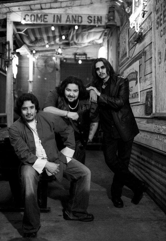 Los Lonely Boys, a trio of brothers from San Angelo, Texas, bring their sunny Southwestern roots rock to the Bud Light Rocks the Boat concert series Saturday. The free show starts at 3 p.m. in Gondola Square.