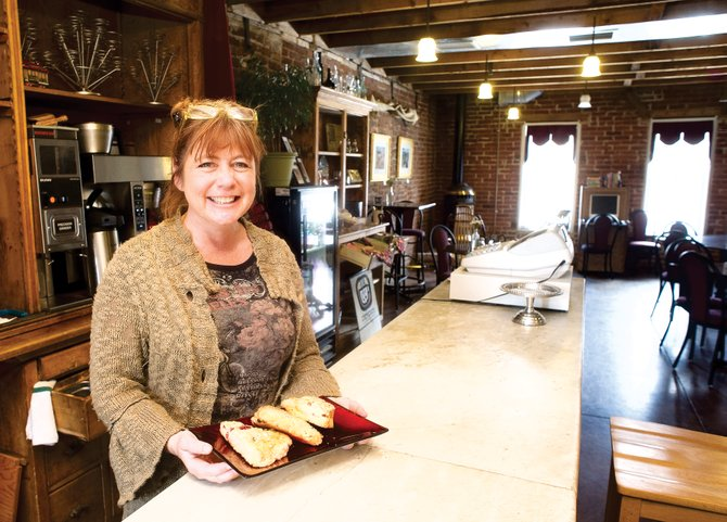Nicolette Powell has taken over the operation of City Cafe inside Centennial Hall on 10th Street. She also operates her own catering business, Chef Nicolette.