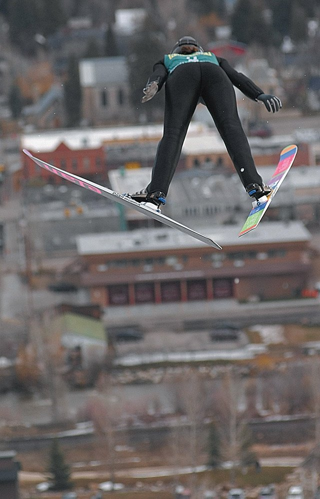 Avery Ardovino jumps at the 2007 U.S. Ski Jumping and Nordic Combined Championships in Steamboat. Women's ski jumping now is recognized as an Olympic sport when it was announced Wednesday that they would get the chance to compete for medals at the 2014 Olympics in Russia.